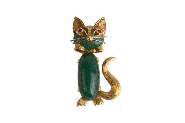 Spilla gattino <br>