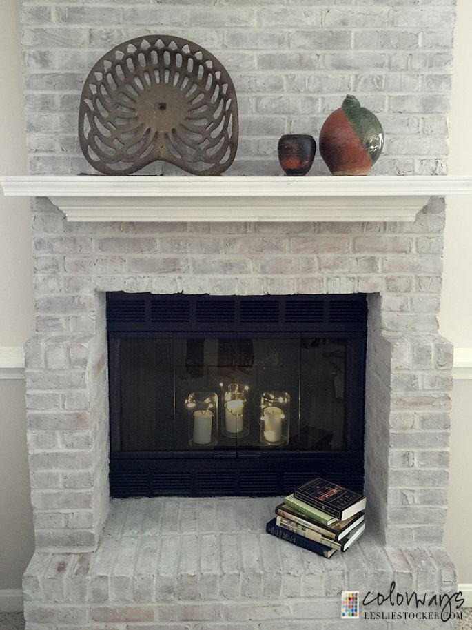 Great pointers, not only on painting fireplace brick, but also painting those outdated brass fixtures on your fireplace surround.