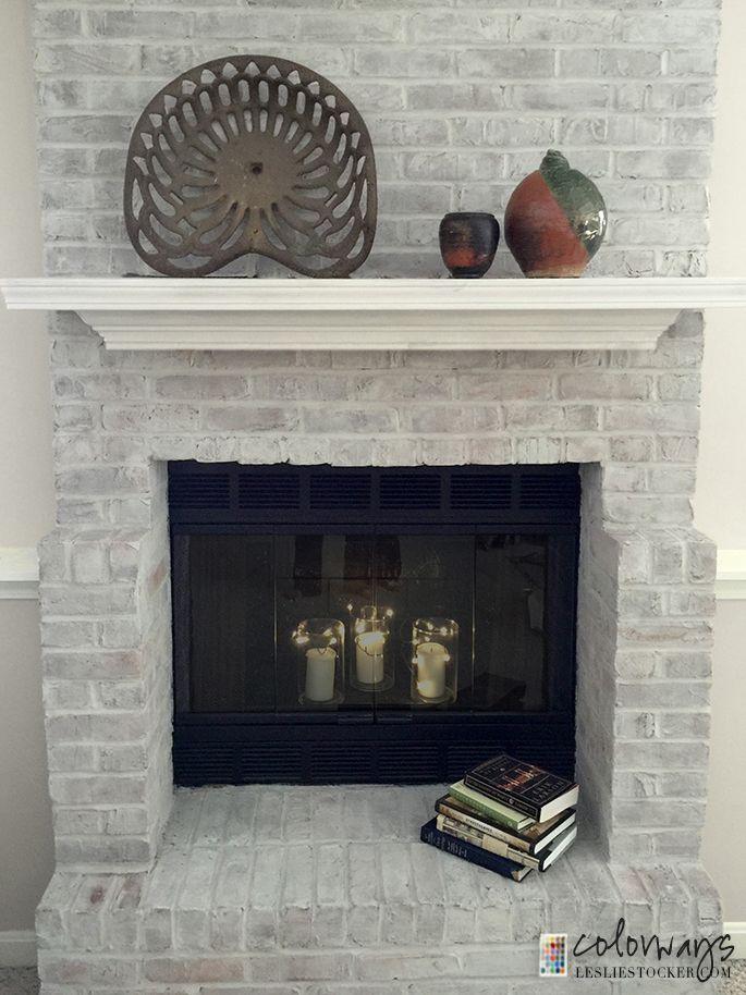 Fireplace Design paint brick fireplace : Best 25+ Grey brick ideas on Pinterest | Brick walls, House siding ...