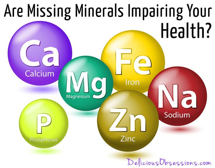 Are Missing Minerals Impairing Your Health? // deliciousobsessions.com