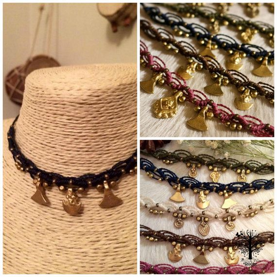 Röötz- Macrame Bracelet , macrame anklet ,macrame necklace , macrame belt ,macrame headband bride,wedding jewellery , tribal micromacrame