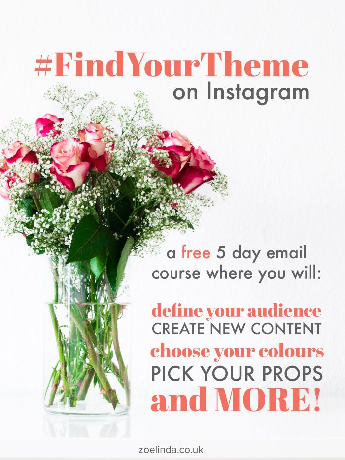 Want to have an envy-inducing Instagram profile and theme? I'm going to teach you how to make great content, create a colour palette, pick your props and more for FREE! Click through to up your Instagram game!