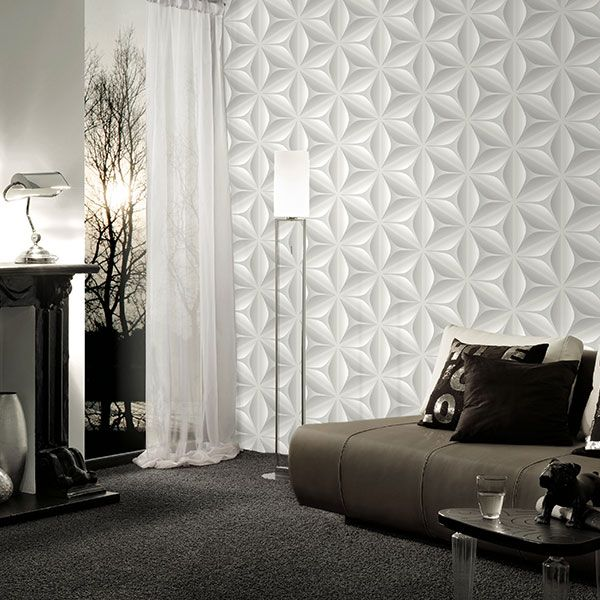 Love this effective wallpaper from Galerie's Move Your Wall Collection- 96042-1R