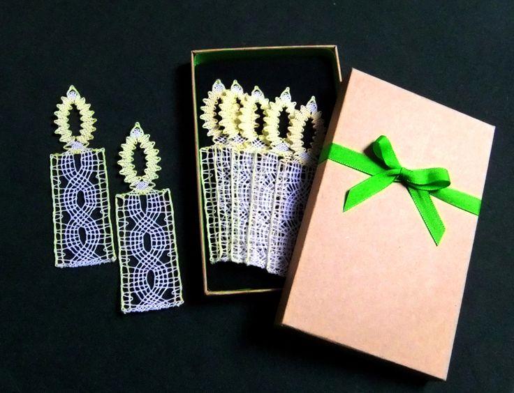 <span>Paličkované svíčky v dárkové krabičce | <a…