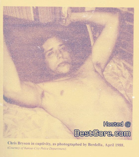 In March of 1988, he abducted his last known victim, a prostitute named Chris Bryson, and put him in his basement. While Berdella was at work, Bryson managed to break free and escape by jumping from a second floor window. He ran to a neighbor's house and thus the killings came to an end.