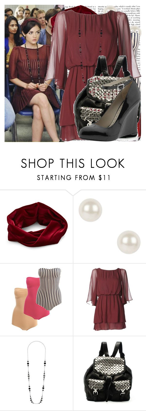 """""""aria - I must confess"""" by cla-90 ❤ liked on Polyvore featuring Eva Franco, Chanel, Finesse, American Apparel, Dorothy Perkins, Rebecca Minkoff, Marc by Marc Jacobs, backpacks, wedge shoes and chiffon dresses"""
