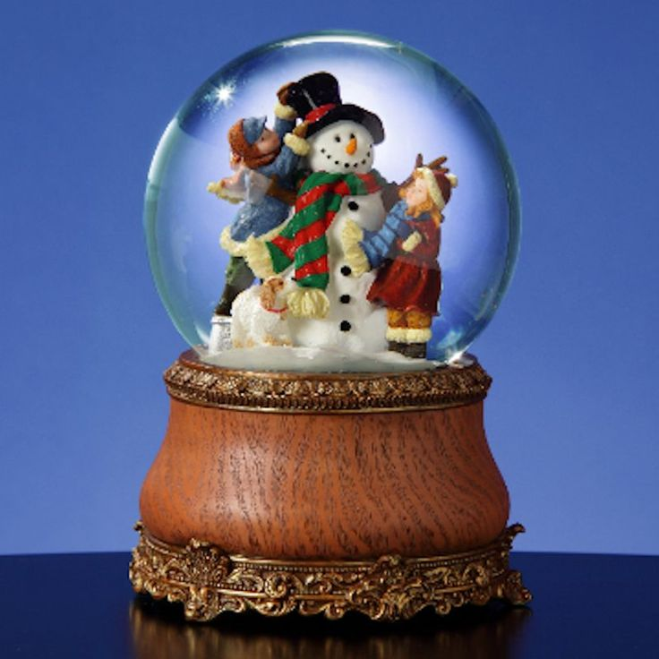 how to fix a musical snow globe