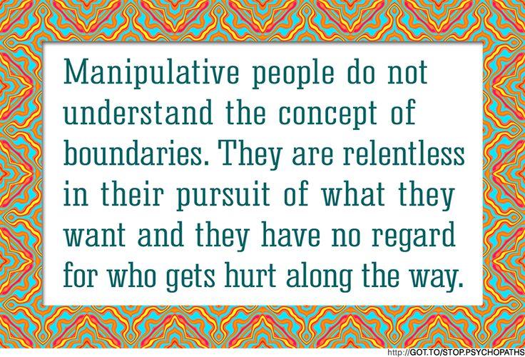 SAD BUT TRUE * http://www.ehow.com/how_4865173_deal-manipulative-people.html  * http://www.ehow.com/how_4865173_deal-manipulative-people.html