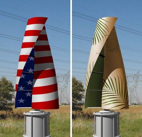 Fan Tastic 10 Cool Colorful Wind Turbine Designs Design