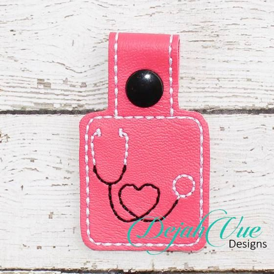 Hey, I found this really awesome Etsy listing at https://www.etsy.com/listing/219149136/ith-nurse-or-doctor-stethoscope-snap-tab