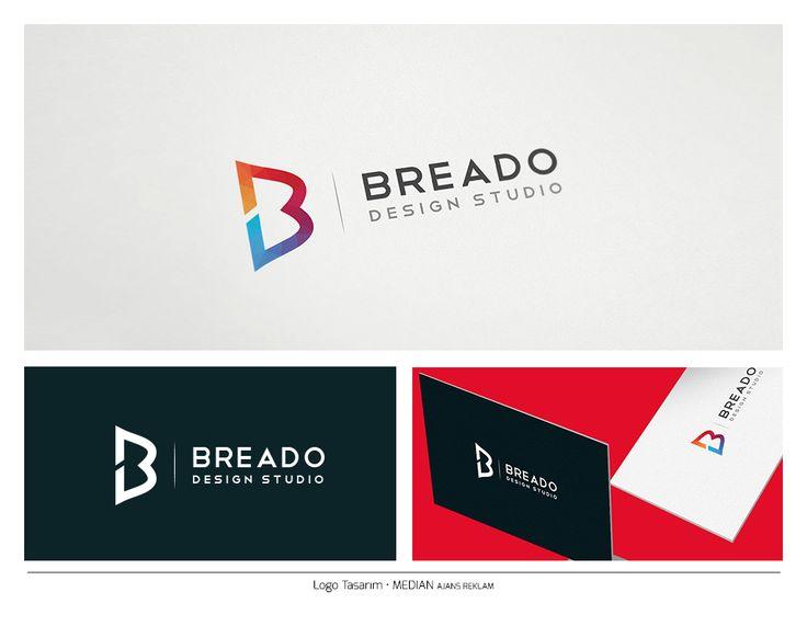 Colorful Letter B Logo, Unique Creative