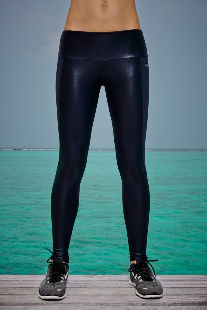 Available in Greyor Black The I am Shiny Leggings are slim-fit leggings that look great before, during and after a workout.Thanks to the high-tech, fluid design, not only are they are lightweight, breathable and quick-drying, they also sculpt and contour the body for maximum stability and support.  Available now, £95.00 at http://www.bodyism.com/product/i-am-shiny-legging/