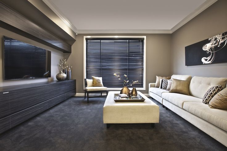 Clarendon Homes. Crestmead 46. Luxury home theatre.