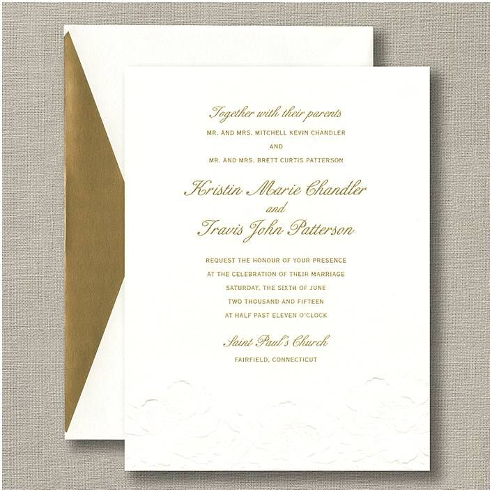 The  Best Formal Wedding Invitations Ideas On