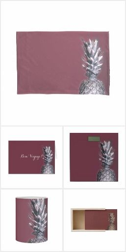 Silver Painted Pineapple homewares collection
