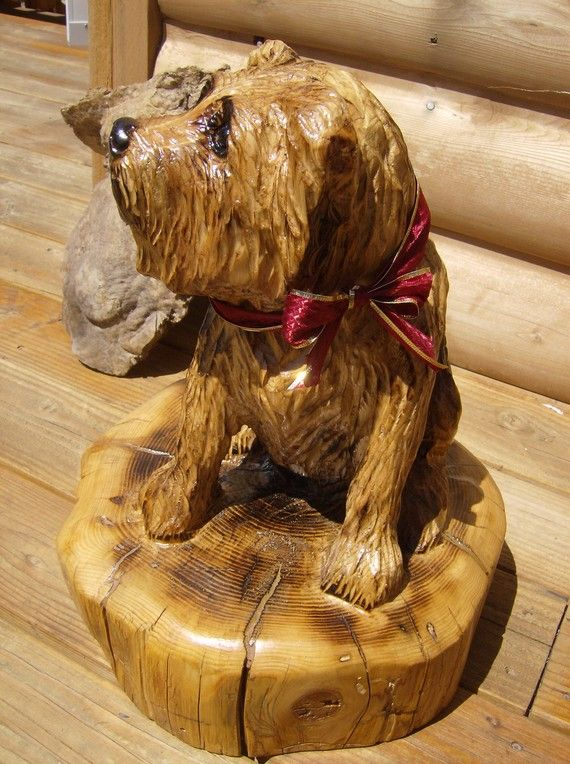 Best images about carved wooden dogs on pinterest