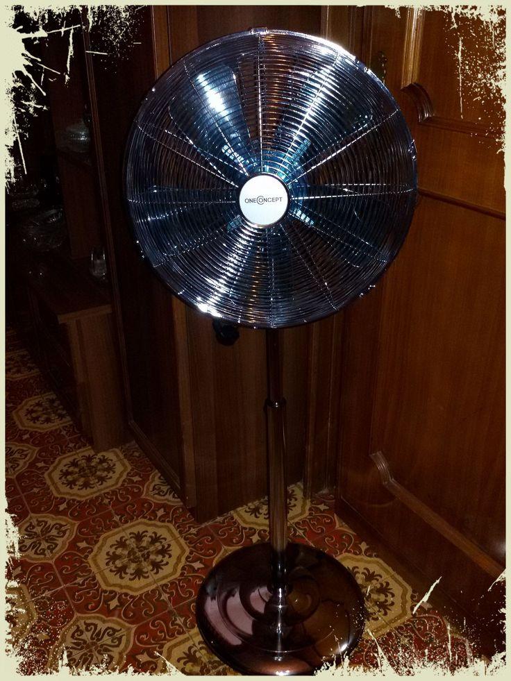 OneConcept ventilatore a piantana in attesa del grande caldo