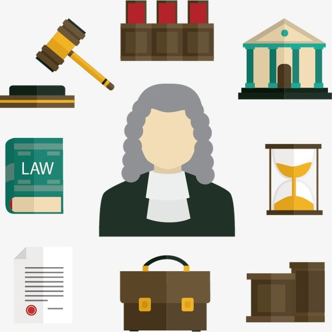 Legal Elements Icon Icon Legal Lawyer Png And Vector With