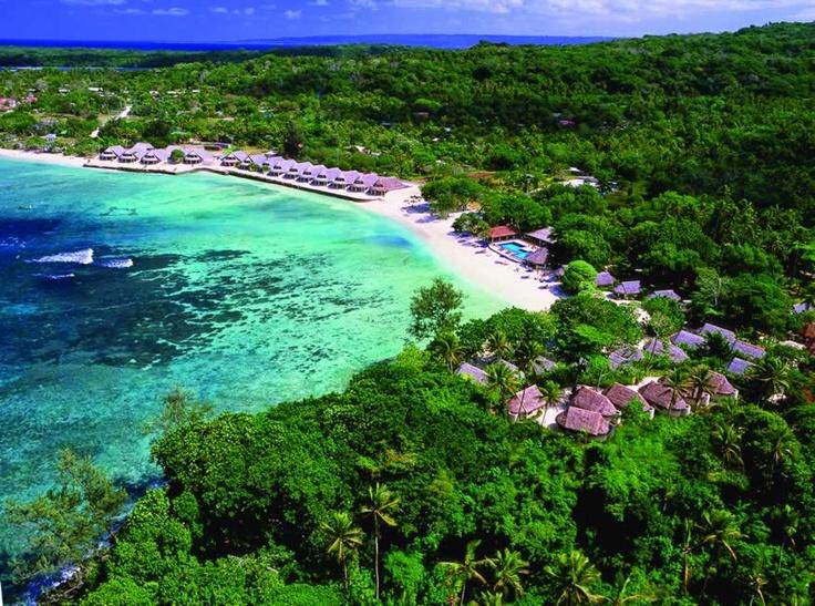 Most Beautiful and Peaceful  Breakas Beach Resort, Port Vila, Vanuatu