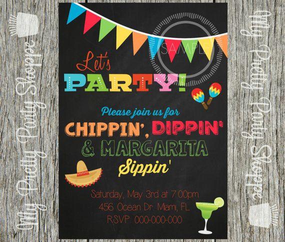 Fiesta / Taco Bar / Nacho Bar / Cinco De by MyPrettyPartyShoppe