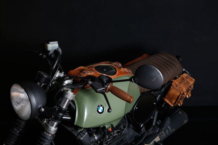 """La vigorosa"" BMW k75 Special"