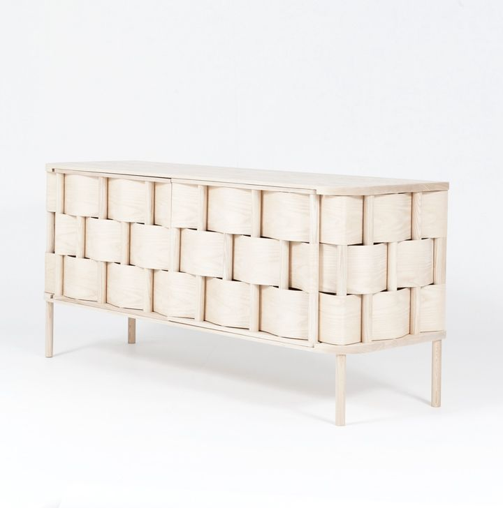 Weave By Swedish Designer Lukas Dahlén. Inspired By The Most Common Kind Of  Wood And Weed Weaving The Weave Cupboard Represents An Enlarged Version Of  The ...