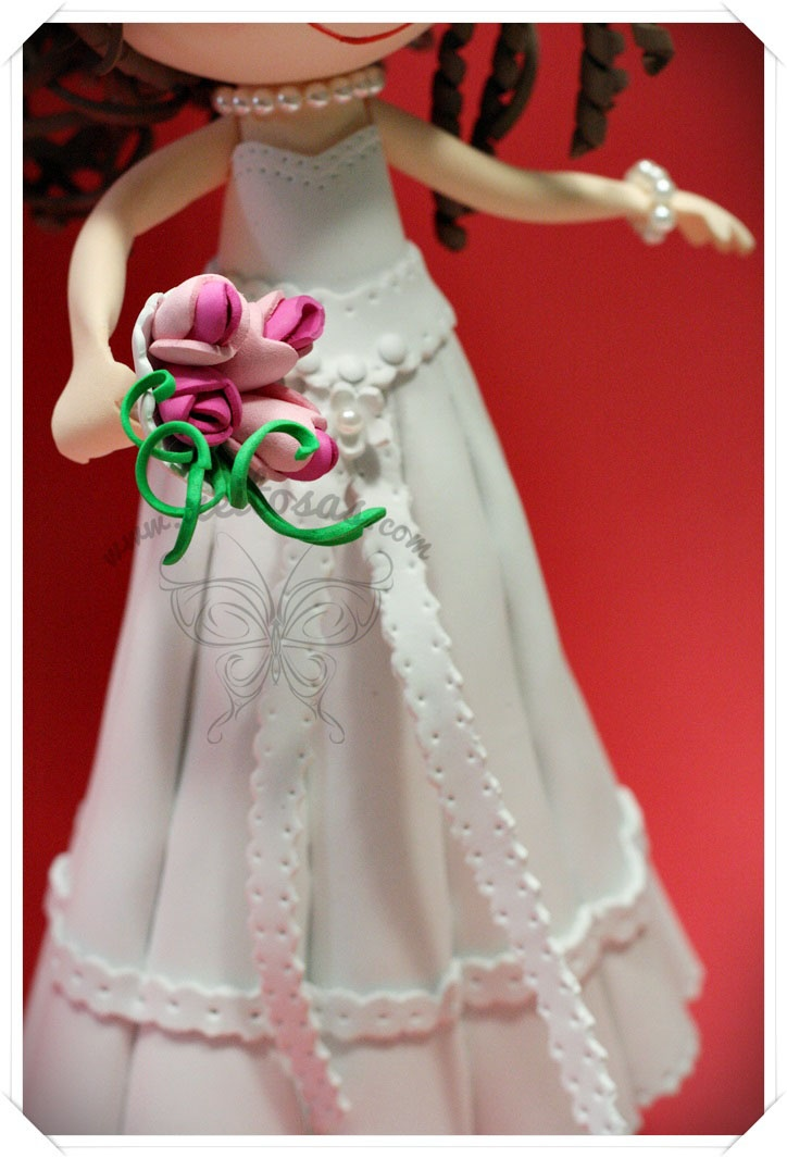 como hacer vestido de novia para fofucha – vestidos de coctel