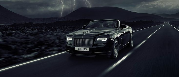 British automaker Rolls-Royce has revealed its latest bespoke motor car, the Dawn Black Badge, to be presented at the Goodwood Festival of Speedthis week.