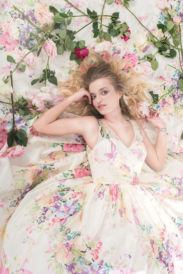 best Floral Wedding Dress images on Pinterest  Wedding dressses