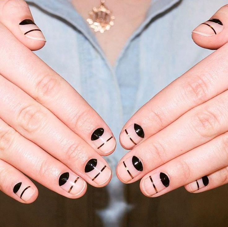 5 New Nail Designs That Are Really Easy to DIY | from InStyle.com