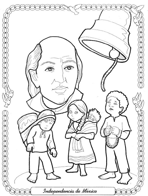 Campesinos peruanos en dibujos buscar con google for Mexican independence day coloring pages