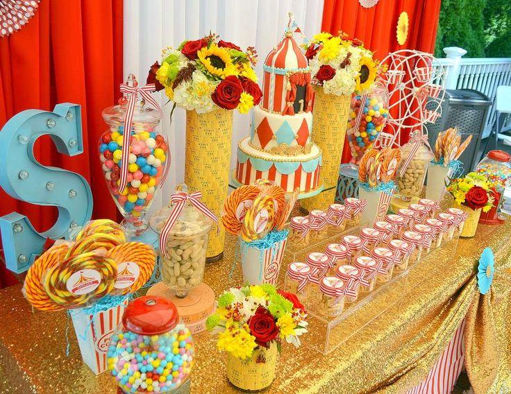 "Carnival/ First Birthday / Birthday ""Glam Carnival!"" | Catch My Party"