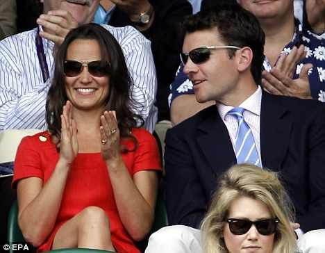 Pippa Middleton And Alex Loudon Are Trying to Stay Out Of Limelight