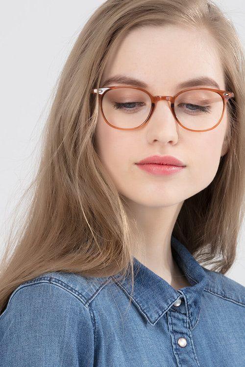 02c9c2c7a17 Hubris - model image Eyeglasses Frames For Women