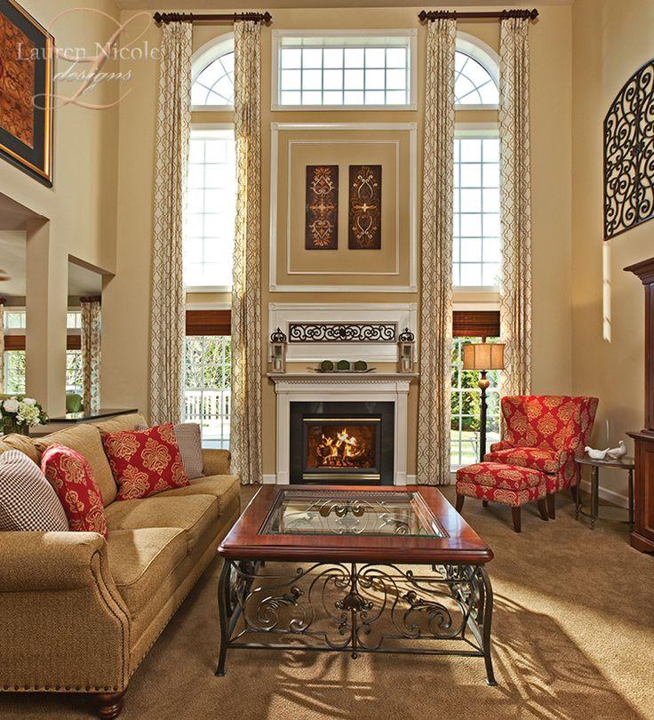 Traditional Family Room Ideas Part - 39: Lauren Nicole Designs   Family Room Interior Design