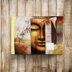 Peaceful Buddha III! Söker du efter den absoluta harmonin är en handmålad canvastavla på Buddha ett måste till hemmet! Det snygga motivet med Buddha och växterna ger oljemålningen en unik look samt att den sticker ut bland befintlig dekoration!     Länk till produkt:  http://www.feelhome.se/produkt/peaceful-buddha-iii/  #Homedecoration #Canvas #olipainting #art #interior #design #Painting #handpainted #interiordesign #canvastavla #canvastavlor #Buddha #natur #ansikte #Modernt #Vardagsrum…