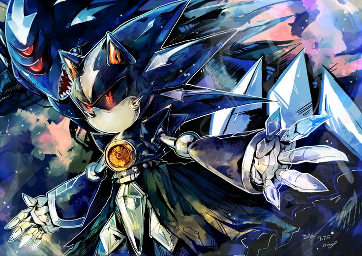 143 best images about Metal Sonic & Friends on Pinterest ...