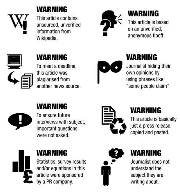 Les mauvais pratiques du journalisme