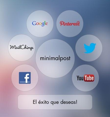 Descubre todo el poder que las redes sociales tienen para tu negocio. Contáctanos para saber más. #minimalpost