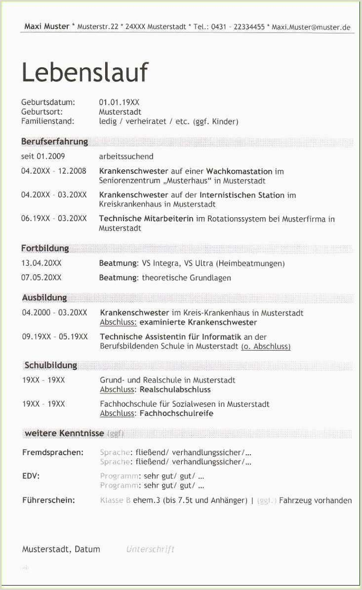 Lebenslauf Muster Pages Mac In 2020 With Images Downloadable