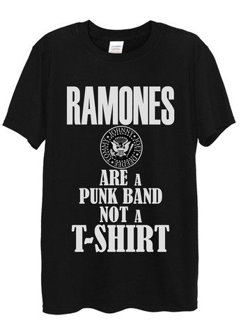 Ramones T-Shirts available in different colours, styles and sizes.
