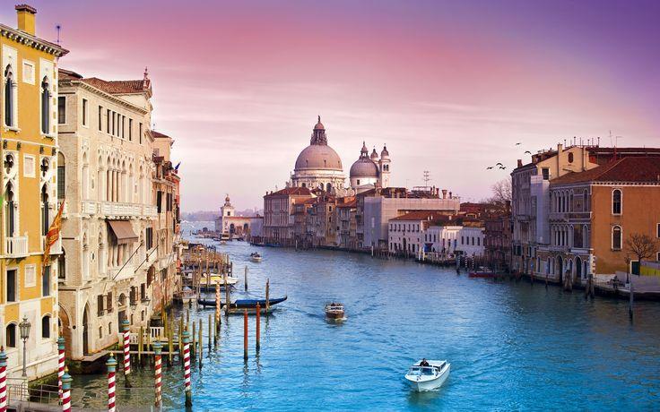 Venice City Wallpaper HD For Desktop Free Download