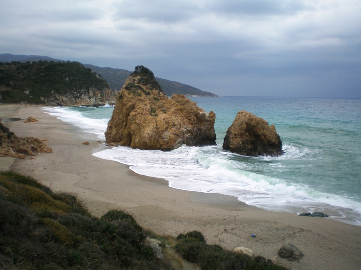 Potistika Beach in Pelion, Greece