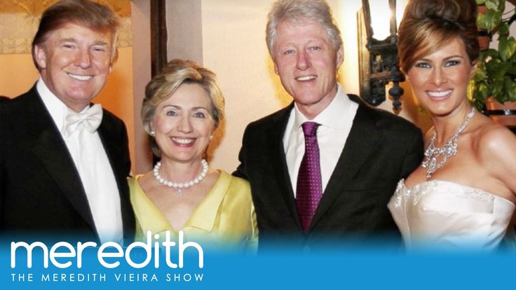 The Clinton's attended Donald Trump's wedding, but failed to bring a wedding gift!