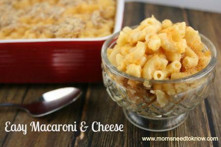 Easy Macaroni and Cheese Recipe | Comfort Food!