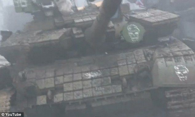 Four Russian tanks were lost in the battle which broke out despite attempts to stick to a ...