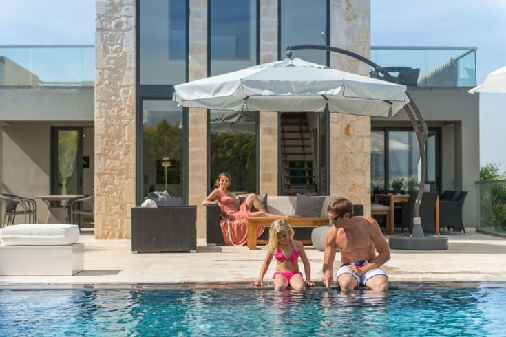 Crete family villas are especially designed to offer you unique family moments. Book now a Crete villa for your family holidays!