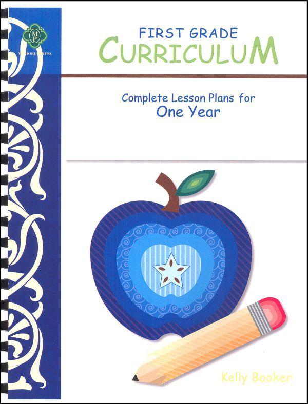 First Grade Curriculum Lesson Plans for One Year