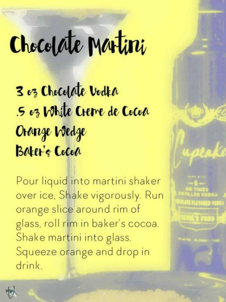 TGIF-It's Been One Of Those Weeks! Whether you've had a long week or not, this cocktail is delish! If you want to join me for a drink, I'm having a  Chocolate Martini, it will cure all that ails you. The recipe is below!