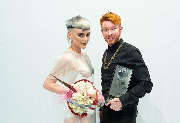 Sean Nolan @ HOB Salons Baker Street   2014 International Trend Vision Colour Award   Platinum 2nd Place Winner
